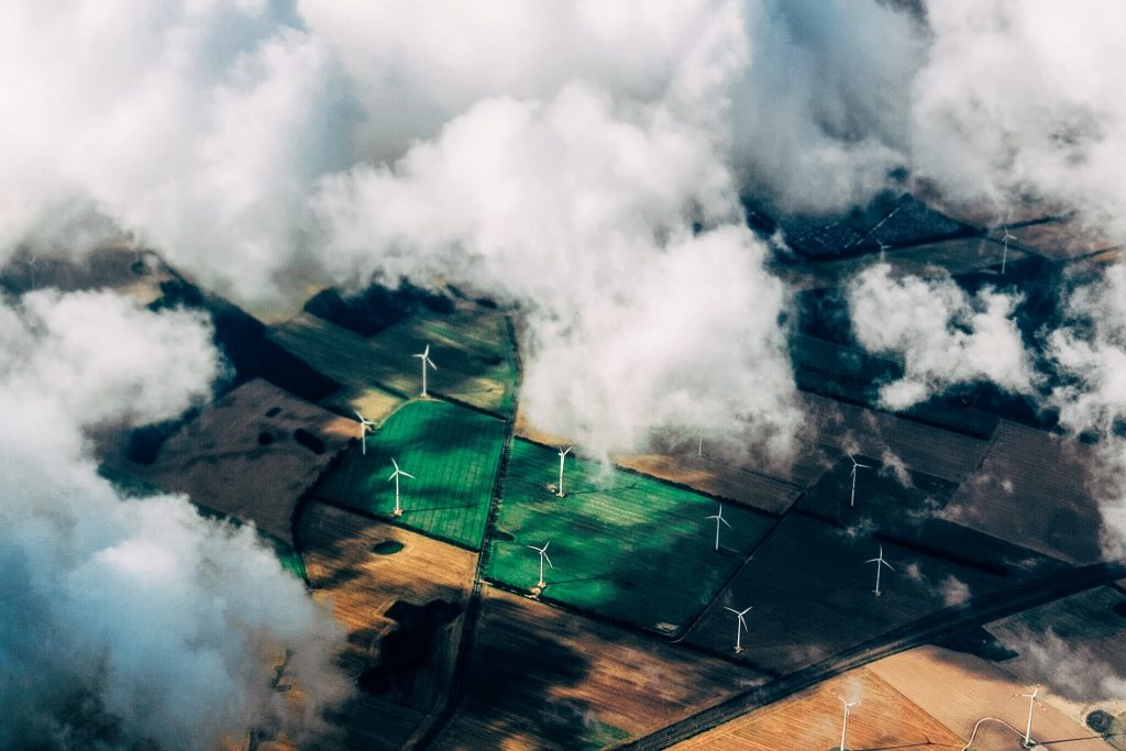 Image showing a windfarm. This demonstrates how much difference consumer choices can make.