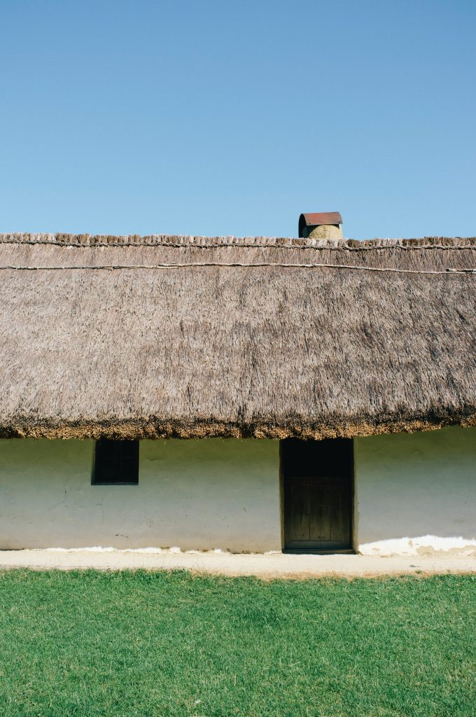 Thatched homes do not need loft insulation.
