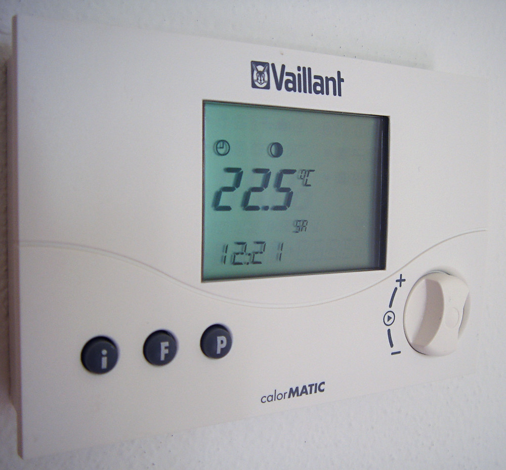Central heating controls crucially include room thermostats.